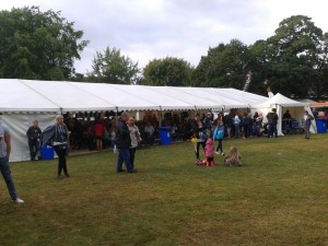 The Beer & Hot Food Tent